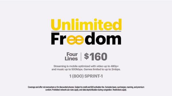 Sprint Unlimited Freedom TV Spot, 'Hyped' - Thumbnail 10