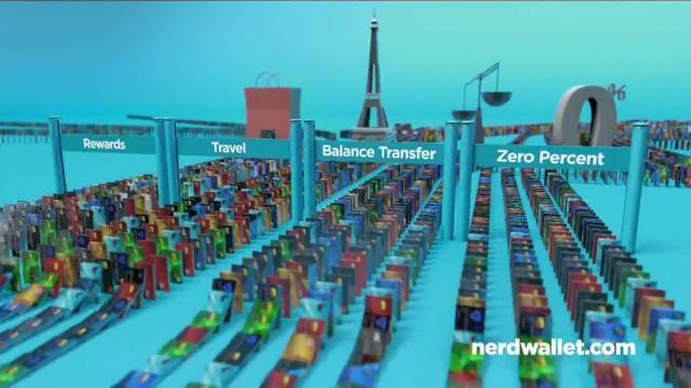 NerdWallet TV Commercial, 'Find the Card That's Right for You'