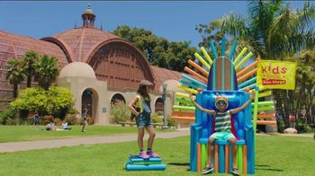 Visit San Diego TV Spot, 'San Diego's Kid King Makes Some New Rules'