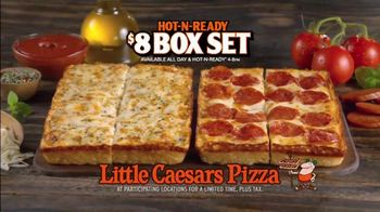 Little Caesars Pizza Hot-N-Ready Box Set TV Spot, 'Have Both' - 1249 commercial airings