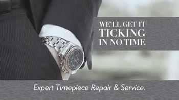 Fast-Fix Jewelry and Watch Repairs TV Spot, 'Ticking in No Time'