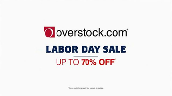 Overstock.com Labor Day Sale TV Spot, 'Rugs, Mattresses and More' - Thumbnail 6