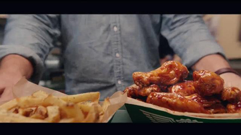 Wingstop Spicy Korean Q TV Spot, 'He Got There First' - Thumbnail 1