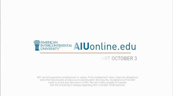 American InterContinental University TV Spot, 'The Edge' - Thumbnail 10