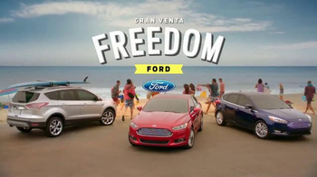 Gran Venta Freedom de Ford TV Spot, 'Sigue' canción por Pitbull [Spanish]