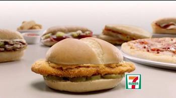 7-Eleven Chicken Sandwich TV Spot, 'Bite' - Thumbnail 1