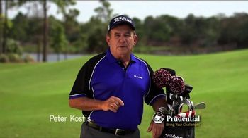 Prudential TV Spot, 'Golf Tip #4: Recovery Shots' Featuring Peter Kostis