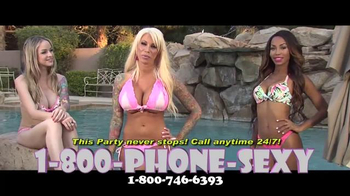 1-800-PHONE-SEXY TV Spot, 'Summer Heat'