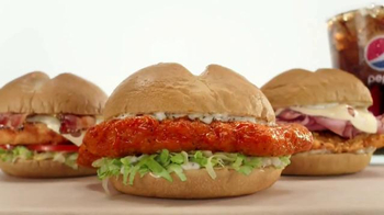 Arby's Buttermilk Chicken Sandwiches TV Spot, 'Let Themselves Go' - Thumbnail 3