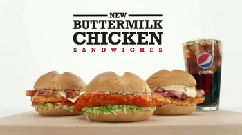 Arby's Buttermilk Chicken Sandwiches TV Spot, 'Let Themselves Go' - Thumbnail 6