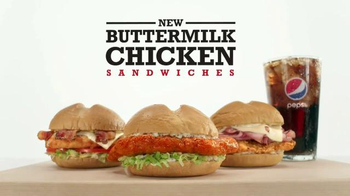 Arby's Buttermilk Chicken Sandwiches TV Spot, 'Let Themselves Go' - Thumbnail 7