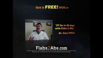 Flabs 2 Abs Meal Plan TV Spot, 'Real Customer'