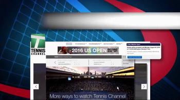 Tennis Channel TV Spot, 'Racquet Bracket: US Open' - Thumbnail 3