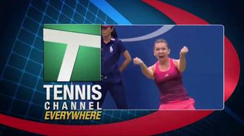 Tennis Channel TV Spot, 'Racquet Bracket: US Open' - Thumbnail 5