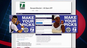 Tennis Channel TV Spot, 'Racquet Bracket: US Open' - Thumbnail 7