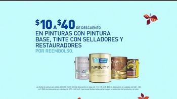 Lowe's Ofertas de Labor Day TV Spot, 'Pinturas' [Spanish] - Thumbnail 3