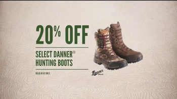 Cabela's Fall Great Outdoor Days Sale TV Spot, 'Boots' - Thumbnail 6