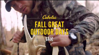 Cabela's Fall Great Outdoor Days Sale TV Spot, 'Boots' - Thumbnail 5