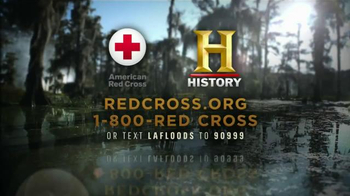 American Red Cross TV Spot, 'History Channel: Louisiana Floods' - Thumbnail 9