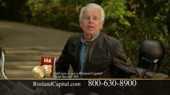 Rosland Capital Gold IRA TV Spot, 'The Open Road' Featuring William Devane - 8 commercial airings