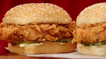KFC Chicken Littles TV Spot, 'Hello There' - Thumbnail 4