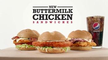 Arby's Buttermilk Chicken Sandwiches TV Spot, 'Just Fine' - Thumbnail 4