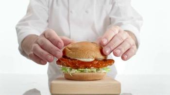 Arby's Buffalo Chicken Sandwich TV Spot, 'Safe Distance' - Thumbnail 6
