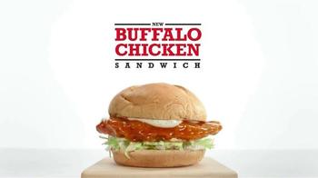 Arby's Buffalo Chicken Sandwich TV Spot, 'Safe Distance' - Thumbnail 9