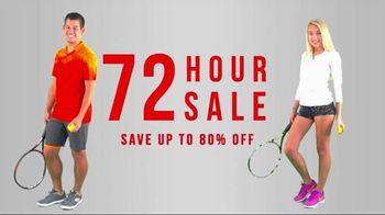 Tennis Express 72 Hour Sale TV Spot, 'Racket Specials'