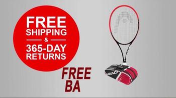 Tennis Express 72 Hour Sale TV Spot, 'Racket Specials' - Thumbnail 4