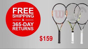 Tennis Express 72 Hour Sale TV Spot, 'Racket Specials' - Thumbnail 5