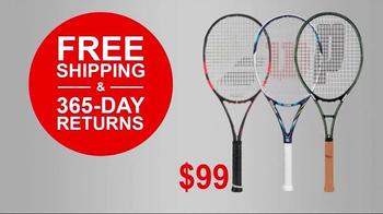 Tennis Express 72 Hour Sale TV Spot, 'Racket Specials' - Thumbnail 6