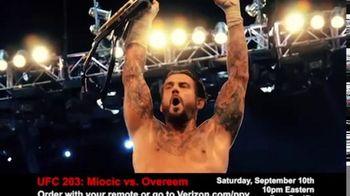 Fios by Verizon TV Spot, 'UFC 203: Miocic vs. Overeem'