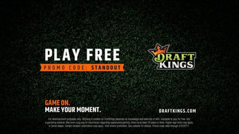 DraftKings TV Spot, 'Hella Tight' Featuring DeAndre Hopkins - Thumbnail 9