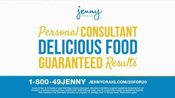 Jenny Craig TV Spot, 'Weight Loss Journey' - Thumbnail 8