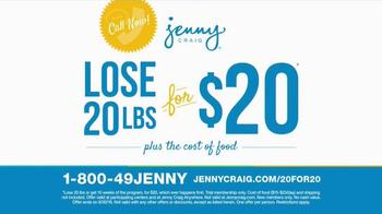 Jenny Craig TV Spot, 'Weight Loss Journey' - Thumbnail 3