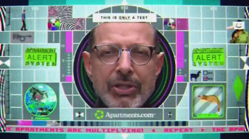 Apartments.com TV Spot, 'Apartment Alert' Featuring Jeff Goldblum - 97 commercial airings
