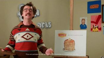 Denny's Buttermilk Pancakes TV Spot, 'Adult Swim: Fun Arts'
