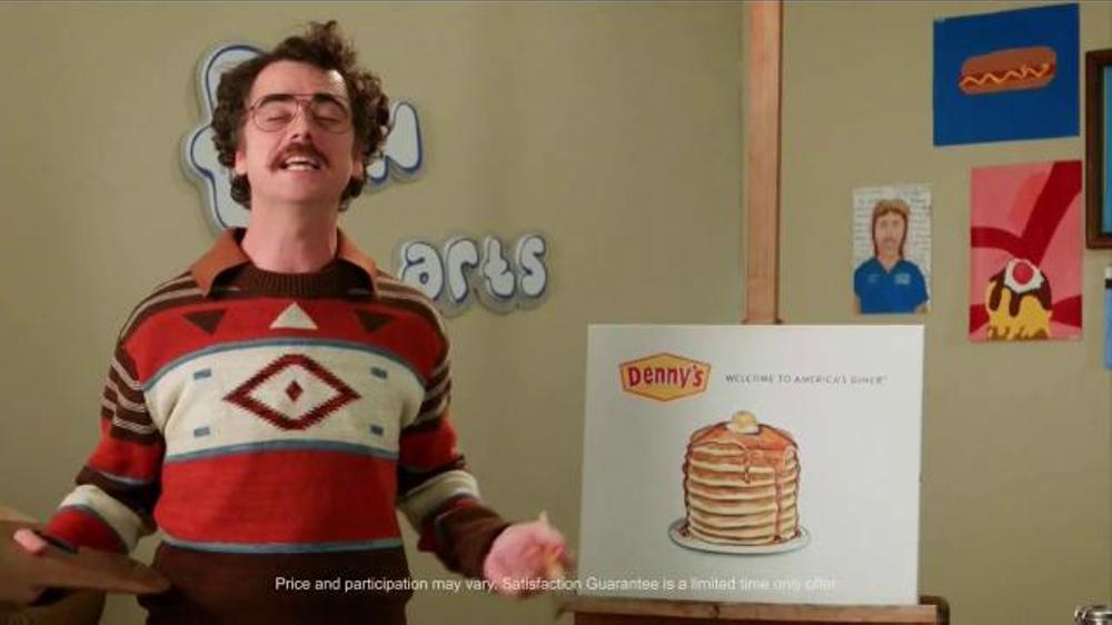 Denny's Buttermilk Pancakes TV Commercial, 'Adult Swim: Fun Arts'