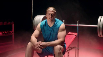 Jack Link's Beef Jerky TV Spot, 'SasquatchWorkout: Bench' Ft Clay Matthews - Thumbnail 2