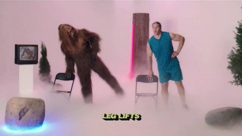 Jack Link's Beef Jerky TV Spot, 'SasquatchWorkout: Bench' Ft Clay Matthews - Thumbnail 4