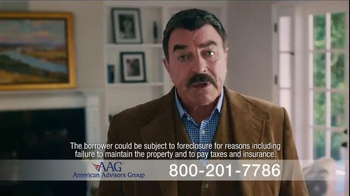 AAG Reverse Mortgage TV Spot, 'Home Equity Chair' Featuring Tom Selleck - Thumbnail 4