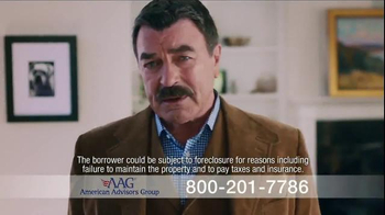 AAG Reverse Mortgage TV Spot, 'Home Equity Chair' Featuring Tom Selleck - Thumbnail 5