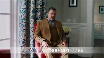 AAG Reverse Mortgage TV Spot, 'Home Equity Chair' Featuring Tom Selleck - Thumbnail 6