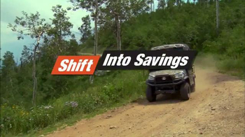 Kubota Shift Into Savings Sales Event TV Spot, 'RTV-X Series'