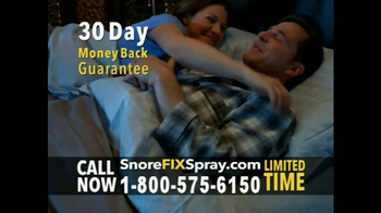 SnoreFIX TV Spot, 'The Ultimate in Snoring Relief' - Thumbnail 9