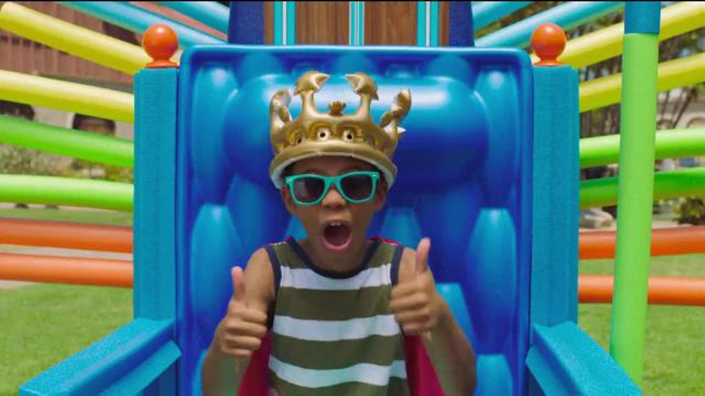 Visit San Diego TV Commercial, 'The Kid King's Proclamation of Awesomification'