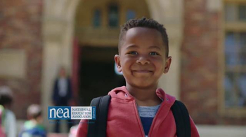 National Education Association TV Spot, '(Not) An Ordinary School Day' - 357 commercial airings