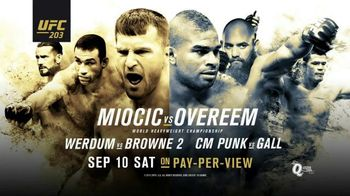 Pay-Per-View TV Spot, 'UFC 203: Miocic vs. Overeem'