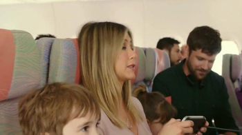 Emirates A380 TV Spot, 'Co-Pilot' Featuring Jennifer Aniston - Thumbnail 7